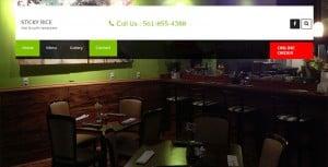 Sticky rice thai & sushi only one thai restaurant in greenacres florida